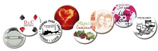 Badges Personnamisés selon votre thème