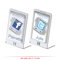 Marque-place IPhone