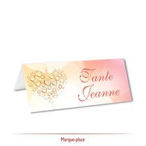 Mariage - Thème Bulles