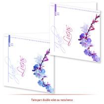Mariage - Thème Floral