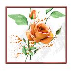 Faire part thème floral aquarelle