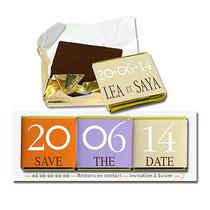 Save the date Chocolat