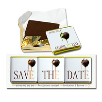 Save the date Chocolat