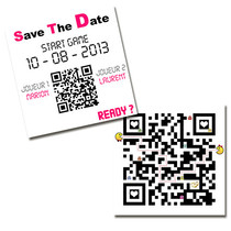 Save the date - Code QR