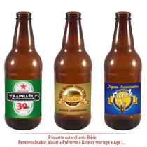 Etiquette Autocollante Bière
