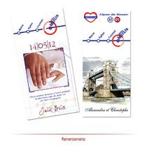 Mariage thème Londres