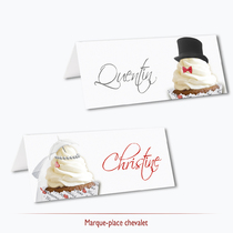 marque-place cup cake