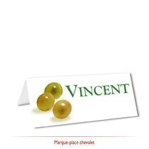 Marque-place thème Vin