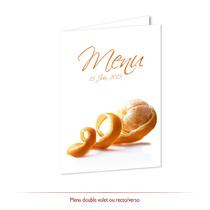 Menu mariage - Mandarine