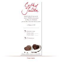 Coupon réponse chocolat