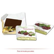chocolats personnalisés Raisin