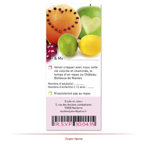 Coupon réponse fruits