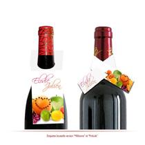 décors bouteille personnalisés fruits