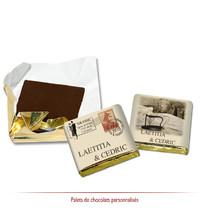 Chocolats personnalisés Vintage