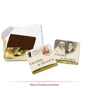 chocolats personnalisés années 40