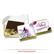 chocolats personnalisés disco