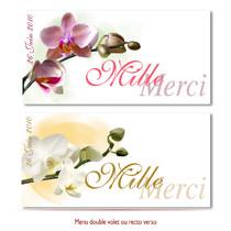 mariage Orchidées