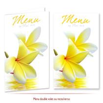Faire part Mariage Tahiti