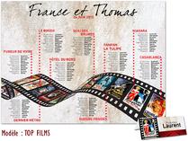 Plan de table - Cinéma