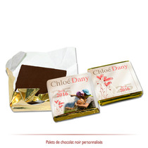 chocolats personnalisés champêtre