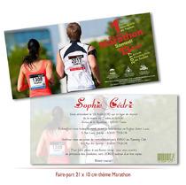 Mariage thème Marathon