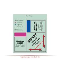 Faire part de Mariage personnalisé Monopoly