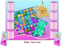 Mariage thème Jeux Loisirs Candy Crush