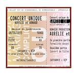 Mariage - Thème Concert