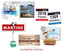 Marques Tables personnalisés Pic Photo Voyage