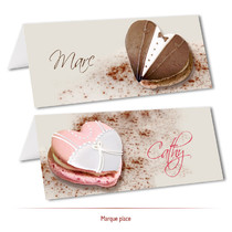 marque-place macarons