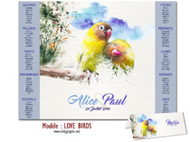 Plan de table - Love Birds