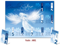 Plan de table - Anges