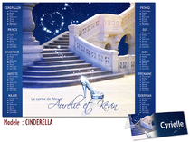 Plan de table - Cendrillon