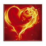 Mariage thème Coeur Enflammé