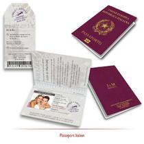 Passeport Italien de Mariage