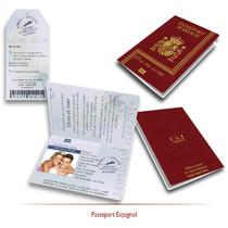 Passeport Espagnol de Mariage
