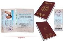 Passeport Mariage personnalisé Voyage Grèce