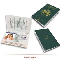 Passeport Algérien de Mariage