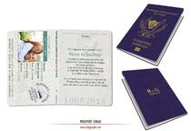 Passeport Mariage personnalisé Voyage Congo