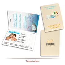 Passeport de Mariage des iles