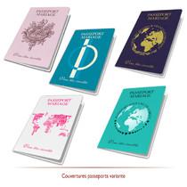 Passeport de Mariage variante couleur