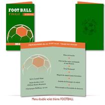 Menus Mariage Loisir Insolite Football