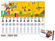 Plan de table - Mario Bross