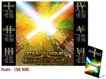 Plan de table - Star Wars