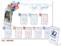 Plan de table - Smart Phone