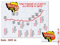 Plan de table - Route 66
