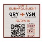Faire-part Mariage personnalisé Passeport Voyage Billet Avion Pochette pas cher