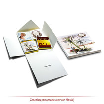 Chocolat personnalisés mariage