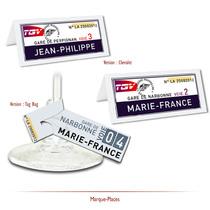 Mariage Billets de TGV
