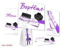 Faire-part Baptême - Paroisse